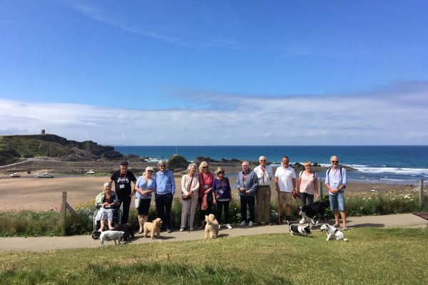 Group photo of Bude walking group