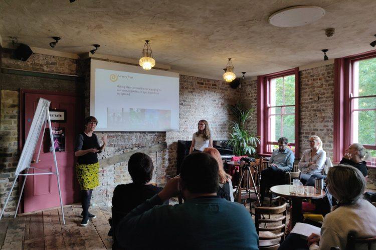 A Sensory Trust training workshop