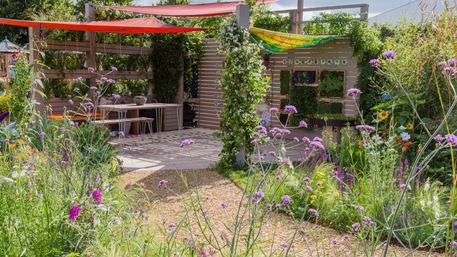 Sensory Trust's garden at Hampton Court Garden Festival 2019