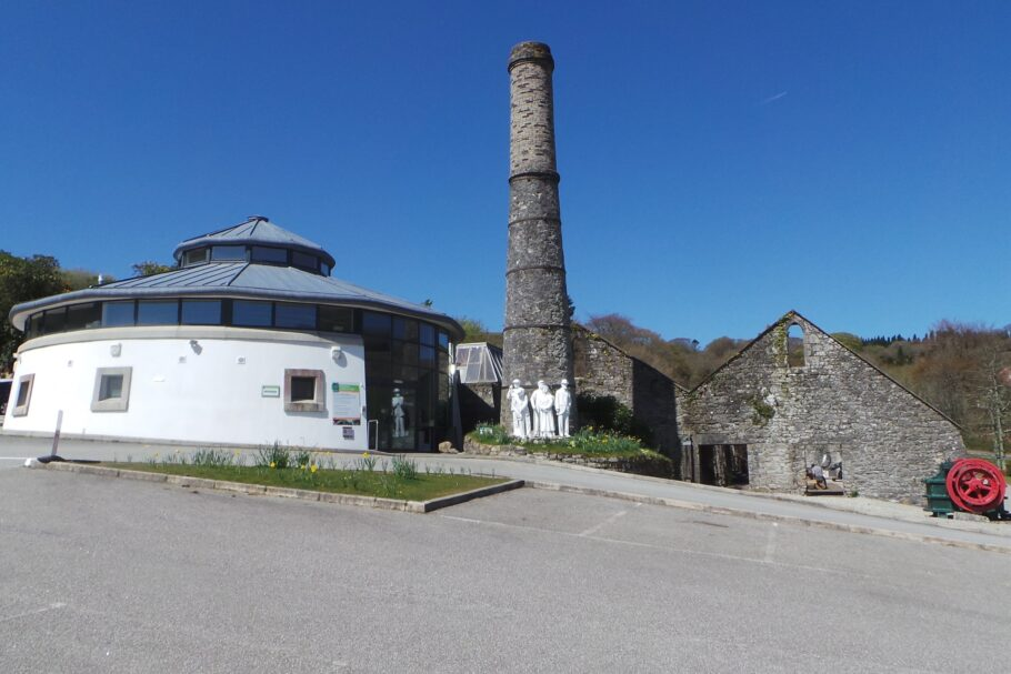 Wheal Martyn china clay museum in Cornwall